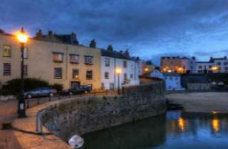 Tenby in the evening