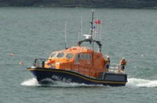 Boat that belongs to Tenby RNLI