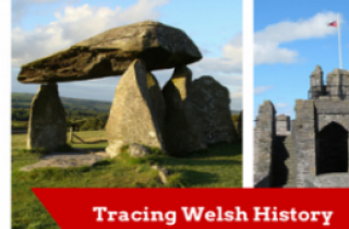 Welsh Historical Sites and burial chambers