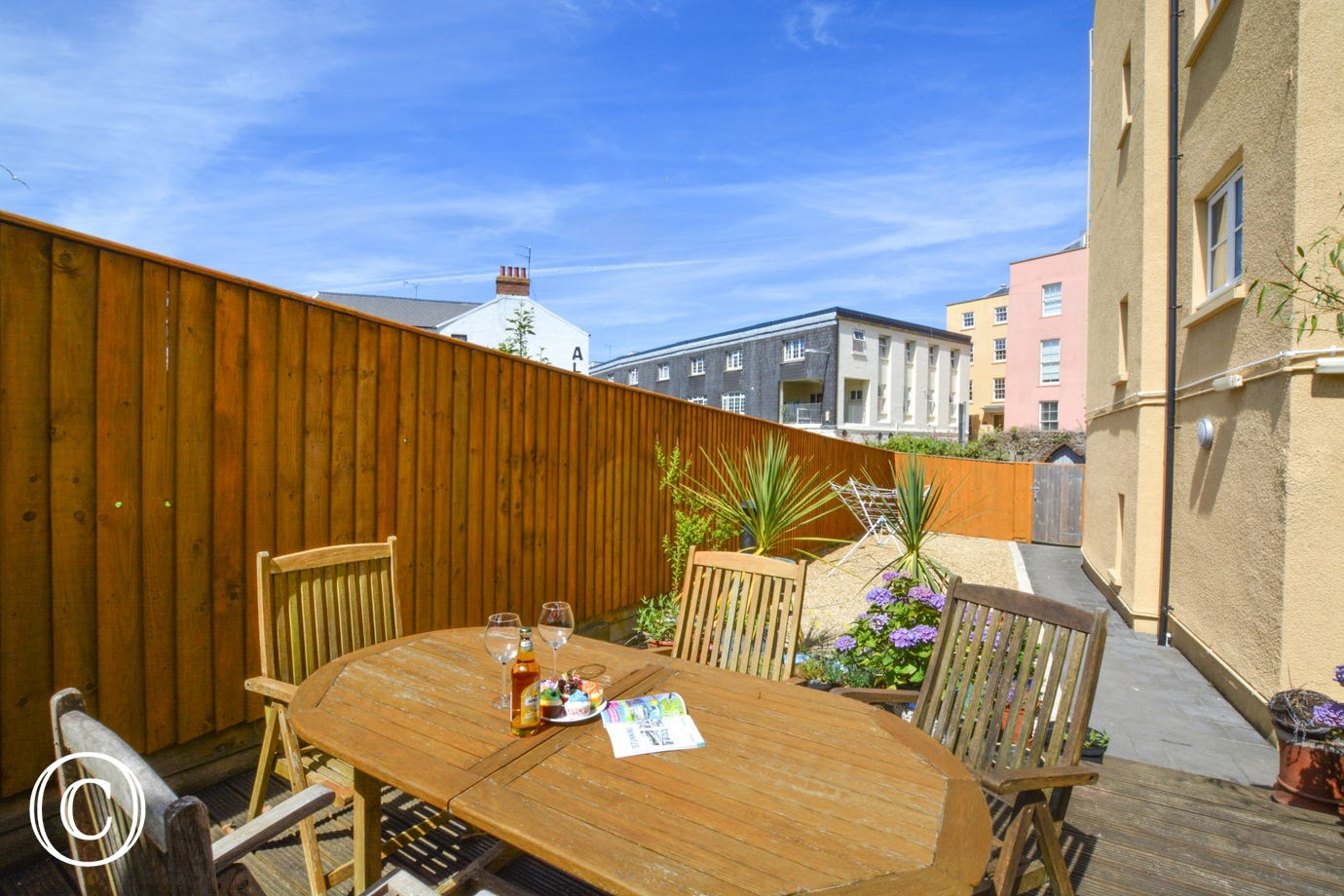 view of cosy sleep 2 in this Holiday Apartment in Tenby