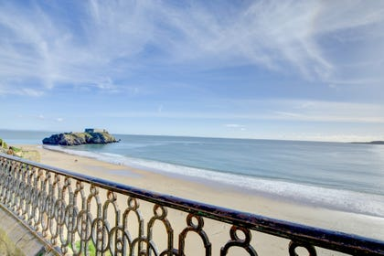 The view from The Parragon in Tenby - perfect!