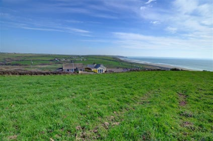 The property has a wonderful outlook over Newgale Sands