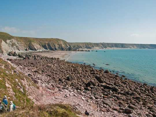Pembrokeshire's stunning coastline has now hit the big screen in Hollywood