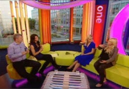 Alex Jones and guests on the One Show