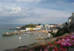 View overlooking Tenby