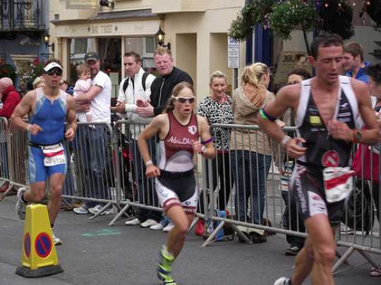 The Ironman Wales challenge taking place